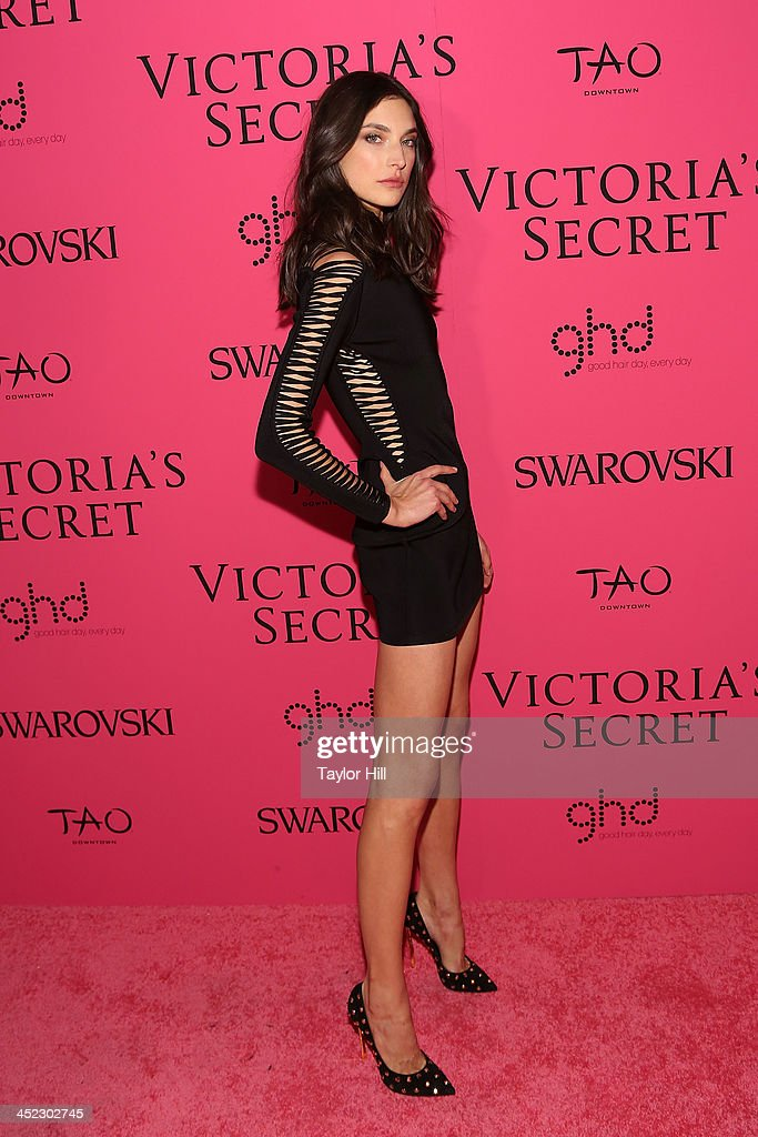 Model Jacquelyn Jablonski attends the after party for the 2013 Victoria's Secret Fashion Show at Lavo NYC on November 13, 2013 in New York City.
