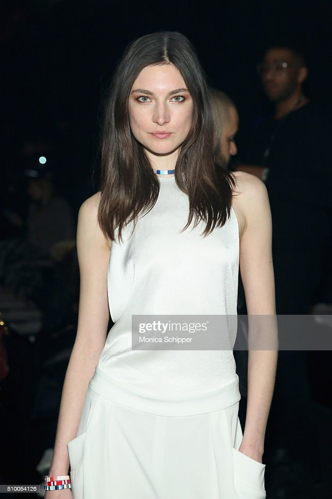 Model Jacquelyn Jablonski attends the Baja East Fall 2016 fashion show during New York Fashion Week: The Shows at The Dock, Skylight at Moynihan Station on February 13, 2016 in New York City.