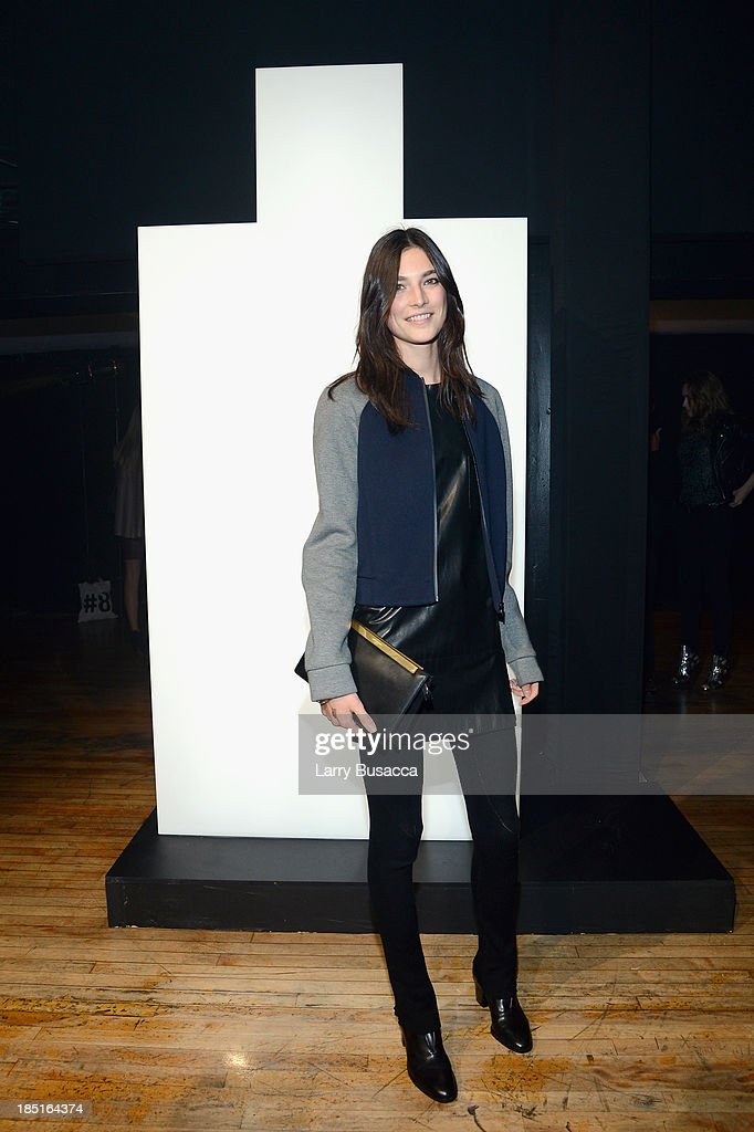 Model Jacquelyn Jablonski attends the Burberry Brit Rhythm Men's Launch in New York at Irving Plaza on October 17, 2013 in New York City.