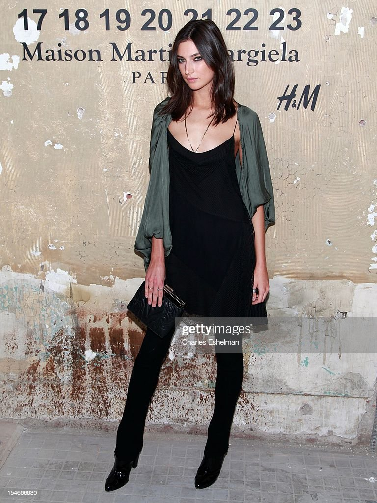 Model Jacquelyn Jablonski attends the Maison Martin Margiela & H&M Global launch party at 5 Beekman on October 23, 2012 in New York City.