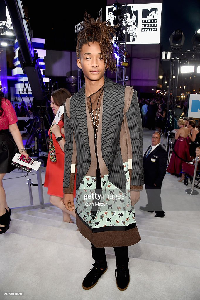 Model Jaden Smith attends the 2016 MTV Video Music Awards at Madison Square Garden on August 28 2016 in New York City