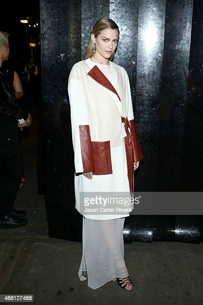 Model Jaime King seen at Skylight at Moynihan Station for Spring 2016 New York Fashion Week The Shows Day 4 on September 13 2015 in New York City