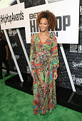 Model Jamillah Farrakhan attends the BET Hip Hop Awards 2014 presented by Sprite at Boisfeuillet Jones Atlanta Civic Center on September 20 2014 in...