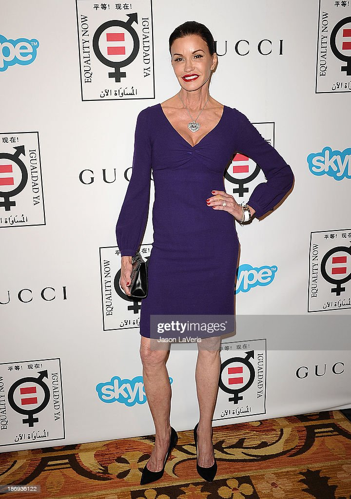 Model Janice Dickinson attends the 'Make Equality Reality' event at Montage Beverly Hills on November 4, 2013 in Beverly Hills, California.