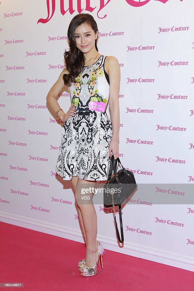 Model <a gi-track='captionPersonalityLinkClicked' href=/galleries/search?phrase=Janice+Man&family=editorial&specificpeople=5814398 ng-click='$event.stopPropagation()'>Janice Man</a> attends Juicy Couture promotional event on September 12, 2013 in Hong Kong, Hong Kong.