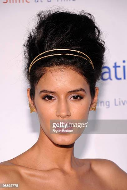 Model Jaslene Gonzalez attends the 2010 Operation Smile annual gala at Cipriani Wall Street on May 6 2010 in New York City