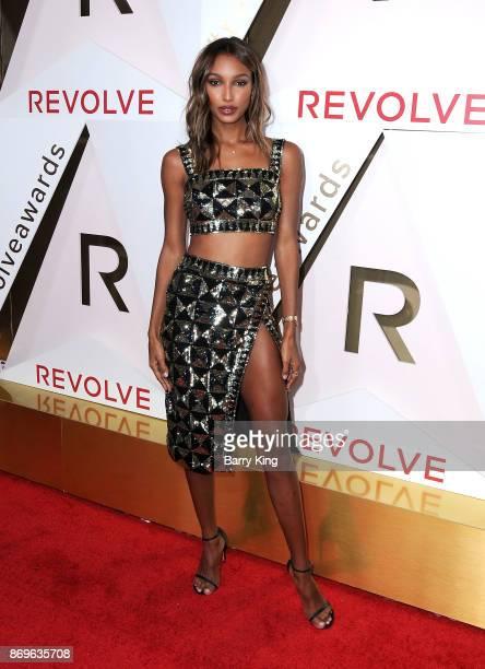 Model Jasmine Tookes attends #REVOLVEawards at DREAM Hollywood on November 2 2017 in Hollywood California