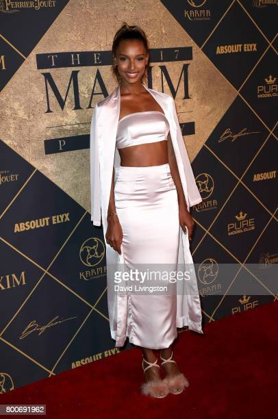 Model Jasmine Tookes attends The 2017 MAXIM Hot 100 Party produced by Karma International at The Hollywood Palladium in celebration of MAXIMÕs Hot...