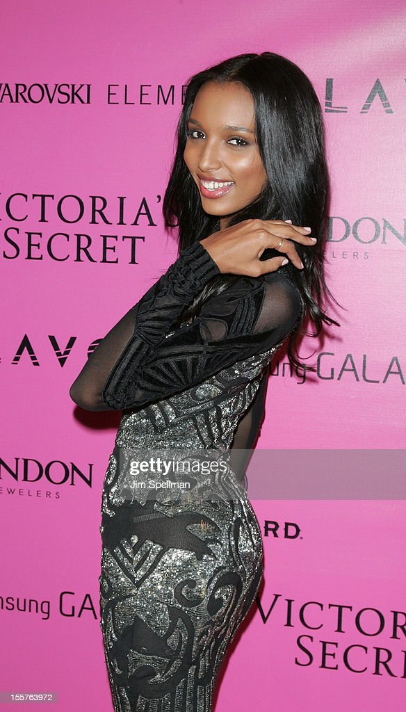 Model Jasmine Tookes attends the after party for the 2012 Victoria's Secret Fashion Show at Lavo NYC on November 7, 2012 in New York City.