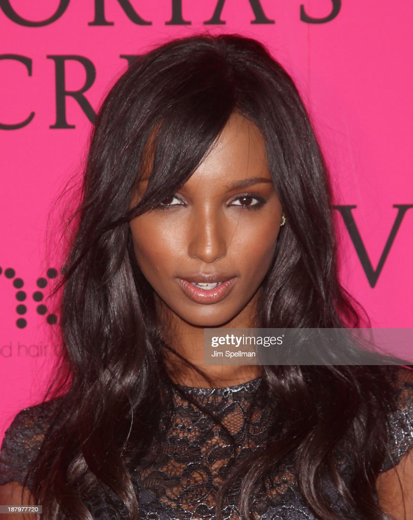 Model Jasmine Tookes attends the after party for the 2013 Victoria's Secret Fashion Show at TAO Downtown on November 13, 2013 in New York City.