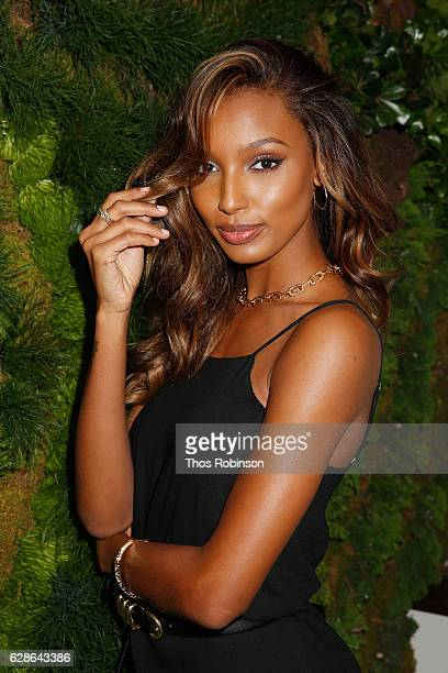 Model Jasmine Tookes attends the John Hardy Artisan in Residence Launch at John Hardy Soho Flagship on December 8 2016 in New York City