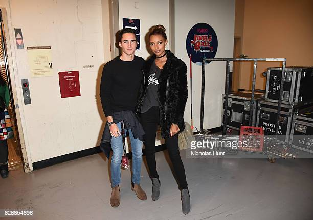 Model Jasmine Tookes attends Z100's Jingle Ball 2016 at Madison Square Garden on December 9 2016 in New York City