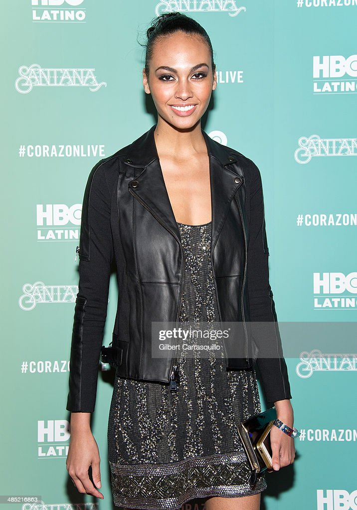 Model Jayden Robinson attends the 'Santana De Corazon' screening at The Hudson Theatre on April 16, 2014 in New York City.