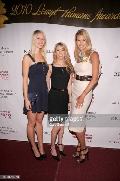 Model Jen Araki award recipient Dr Jennifer Jablow and NSALA spokesperson Beth Ostrosky Stern attend the 9th Annual North Shore Animal League...