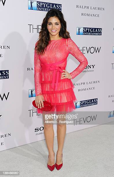 Model Jenna DewanTatum attends the premiere of Sony Pictures' 'The Vow' at Grauman's Chinese Theatre on February 6 2012 in Hollywood California