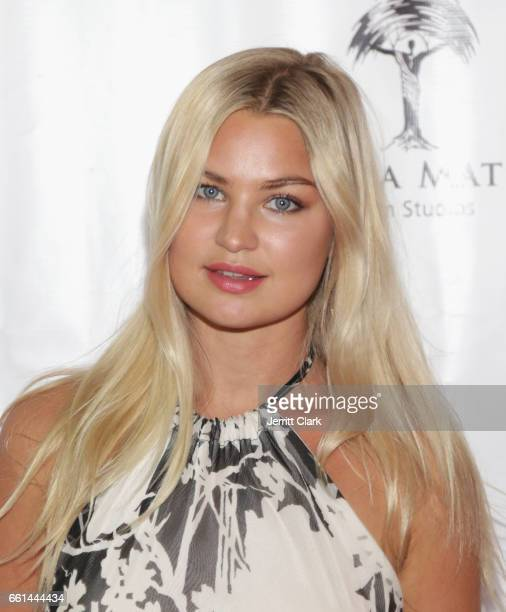 Model Jennifer Akerman attends the Fathom Events And Terra Mater Film Studios Premiere Event For 'MindGamers One Thousand Minds Connected Live'...