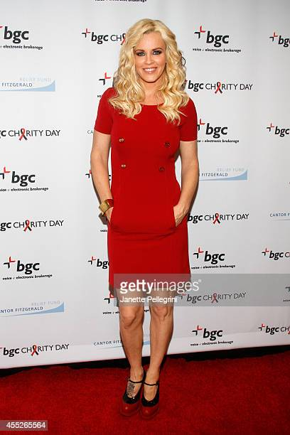 Model Jenny McCarthy attends Annual Charity Day Hosted By Cantor Fitzgerald And BGC at BGC Partners INC on September 11 2014 in New York City