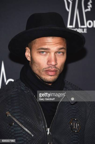 Model Jeremy Meeks attends the Moncler Grenoble fashion show during 2017 New York Fashion Week at The Hammerstein Ballroom on February 14 2017 in New...