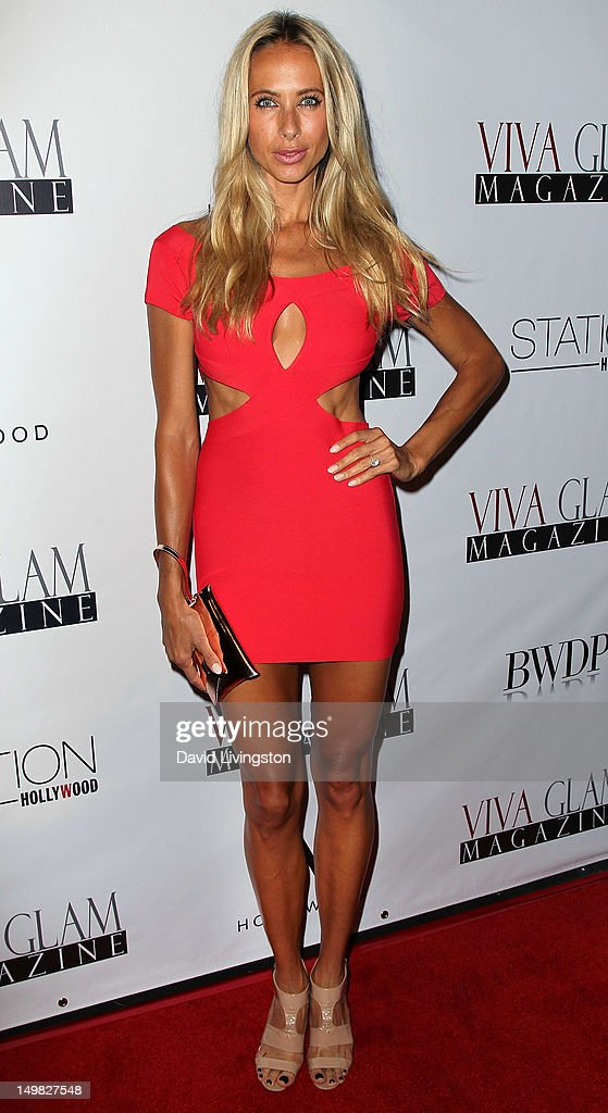 Model Jesse Golden attends the Viva Glam Magazine September Issue launch party at Station Hollywood on July 31, 2012 in Hollywood, California.