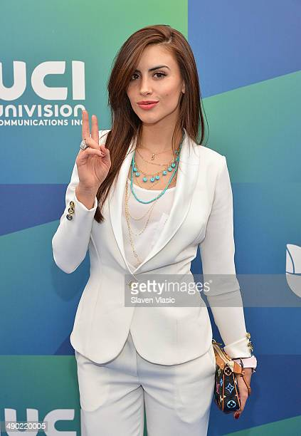 Model Jessica Cediel attends the 2014 Univision Upfront at Gotham Hall on May 13 2014 in New York City