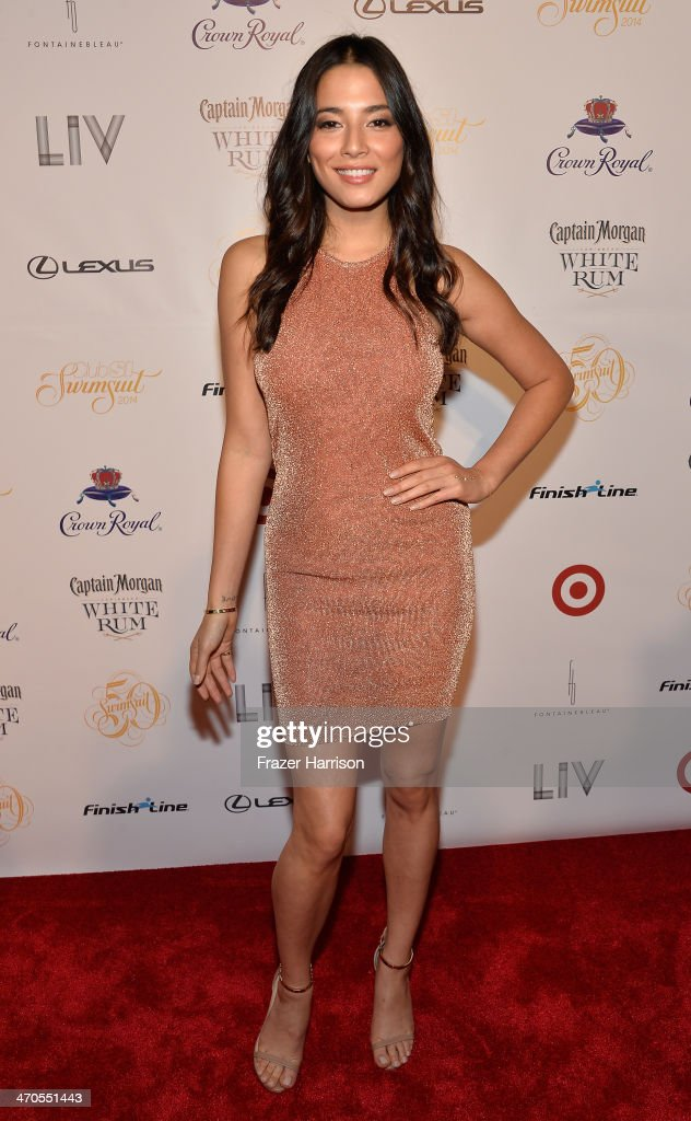 Model <a gi-track='captionPersonalityLinkClicked' href=/galleries/search?phrase=Jessica+Gomes&family=editorial&specificpeople=4319063 ng-click='$event.stopPropagation()'>Jessica Gomes</a> attends Club SI Swimsuit at LIV Nightclub hosted by Sports Illustrated at Fontainebleau Miami on February 19, 2014 in Miami Beach, Florida.