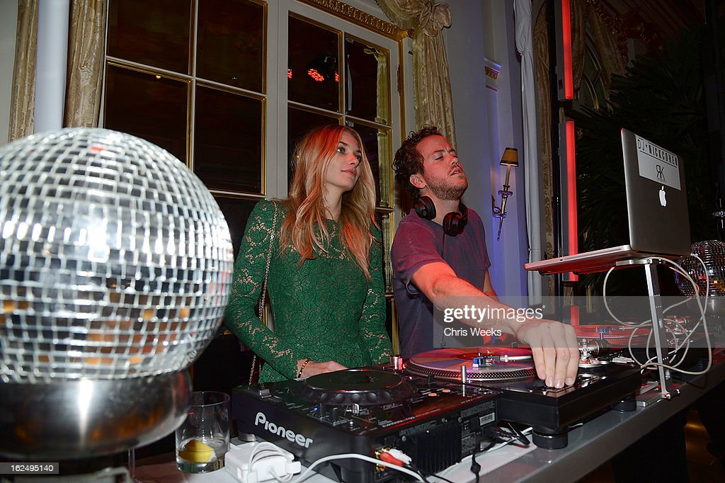 Model Jessica Hart attends an after party for Mario Testino's PRISM reception at a private residence on February 23, 2013 in Beverly Hills, California.