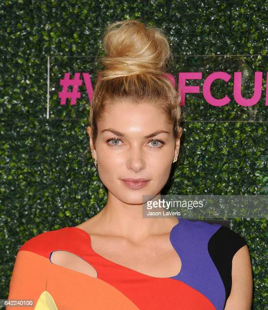 Model Jessica Hart attends An Unforgettable Evening at the Beverly Wilshire Four Seasons Hotel on February 16 2017 in Beverly Hills California