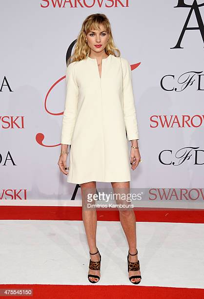 Model Jessica Hart attends the 2015 CFDA Fashion Awards at Alice Tully Hall at Lincoln Center on June 1 2015 in New York City