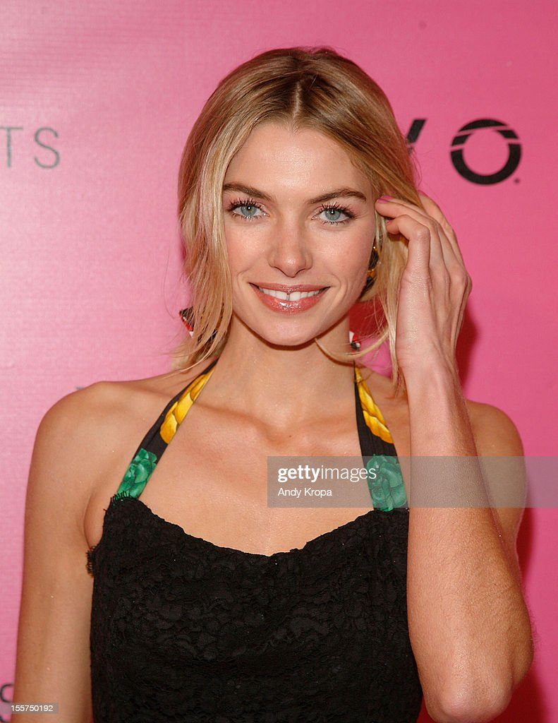 Model Jessica Hart attends the after party for the 2012 Victoria's Secret Fashion Show at Lavo NYC on November 7, 2012 in New York City.