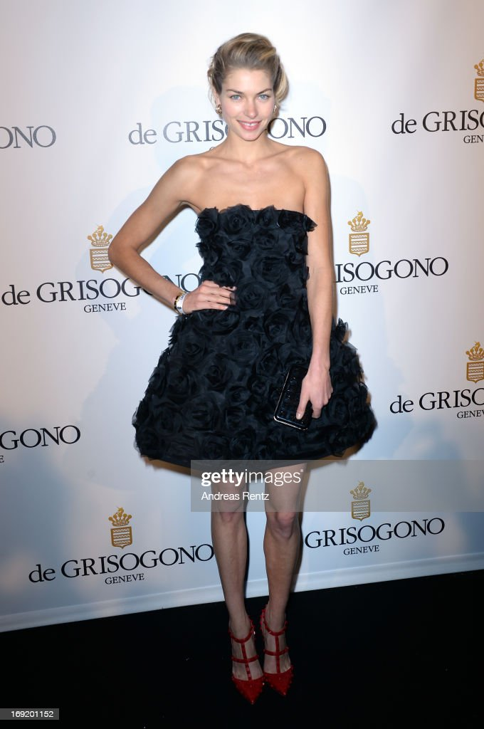 Model <a gi-track='captionPersonalityLinkClicked' href=/galleries/search?phrase=Jessica+Hart&family=editorial&specificpeople=4436555 ng-click='$event.stopPropagation()'>Jessica Hart</a> attends the 'De Grisogono' Party during The 66th Annual Cannes Film Festival at Hotel Du Cap Eden Roc on May 21, 2013 in Antibes, France.