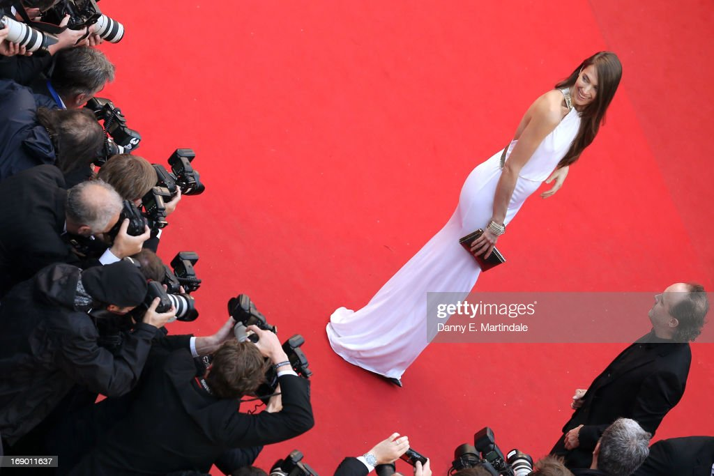 Model Jessica Miller attends the 'Jimmy P. (Psychotherapy Of A Plains Indian)' Premiere during the 66th Annual Cannes Film Festival at the Palais des Festivals on May 18, 2013 in Cannes, France.