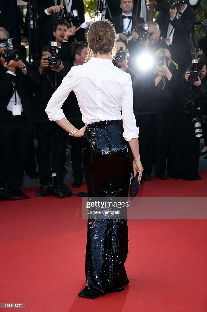 Model Jessica Miller attends the Premiere of 'Le Passe' (The Past) at The 66th Annual Cannes Film Festival on May 17, 2013 in Cannes, France.