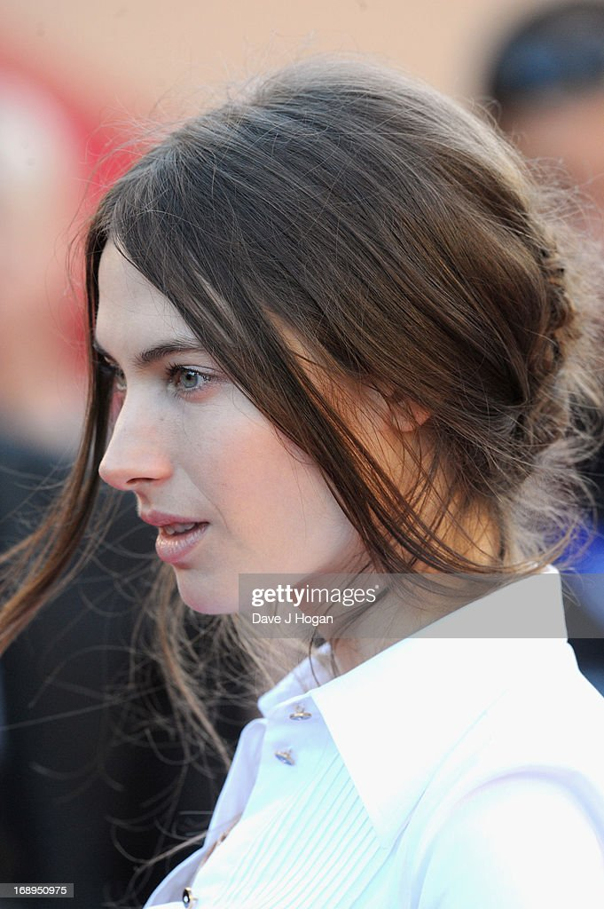 Model Jessica Miller attends the Premiere of 'Le Passe' (The Past) during The 66th Annual Cannes Film Festival at Palais des Festivals on May 17, 2013 in Cannes, France.