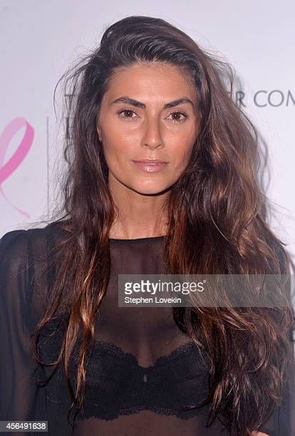 Model Jessica Orr attends the 'Hear Our Stories' screening hosted by the Estee Lauder Companies Breast Cancer Awareness Campaign and the Cinema...