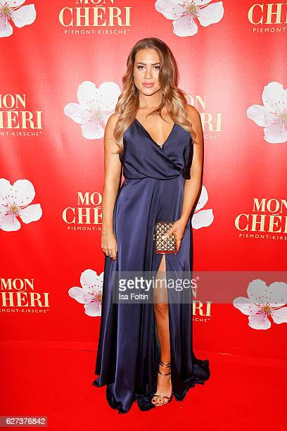 Model Jessica Paszka attends the Mon Cheri Barbara Tag at Postpalast on December 2 2016 in Munich Germany