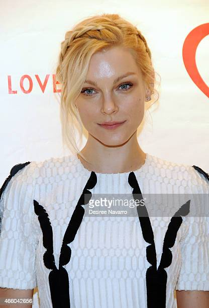 Model Jessica Stam attends Love Heals 2015 Gala at the Four Seasons Restaurant on March 12 2015 in New York City