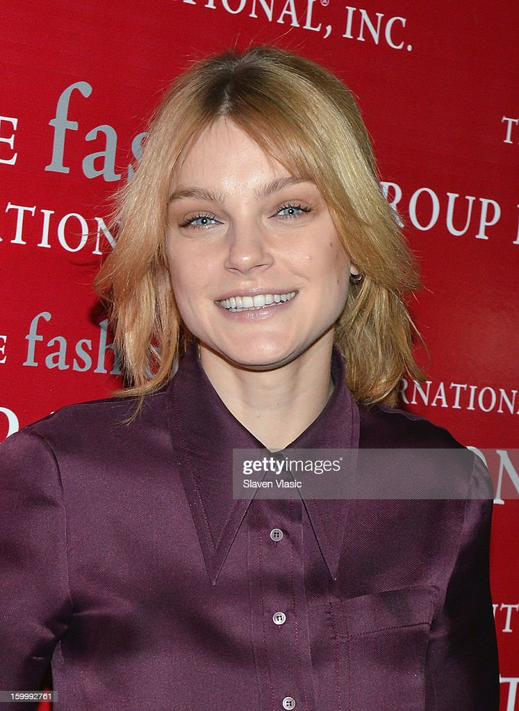 Model Jessica Stam attends the 15th annual Fashion Group International Rising Star at Cipriani 42nd Street on January 24, 2013 in New York City.
