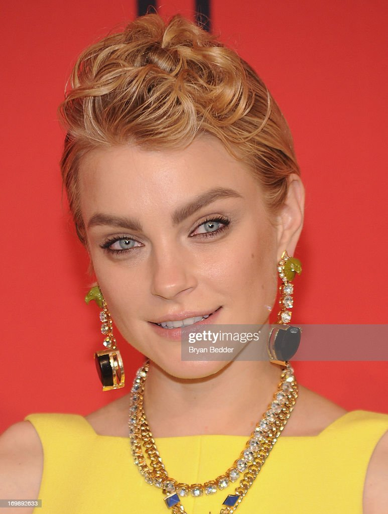 Model Jessica Stam attends the 2013 CFDA Fashion Awardson June 3, 2013 in New York, United States.