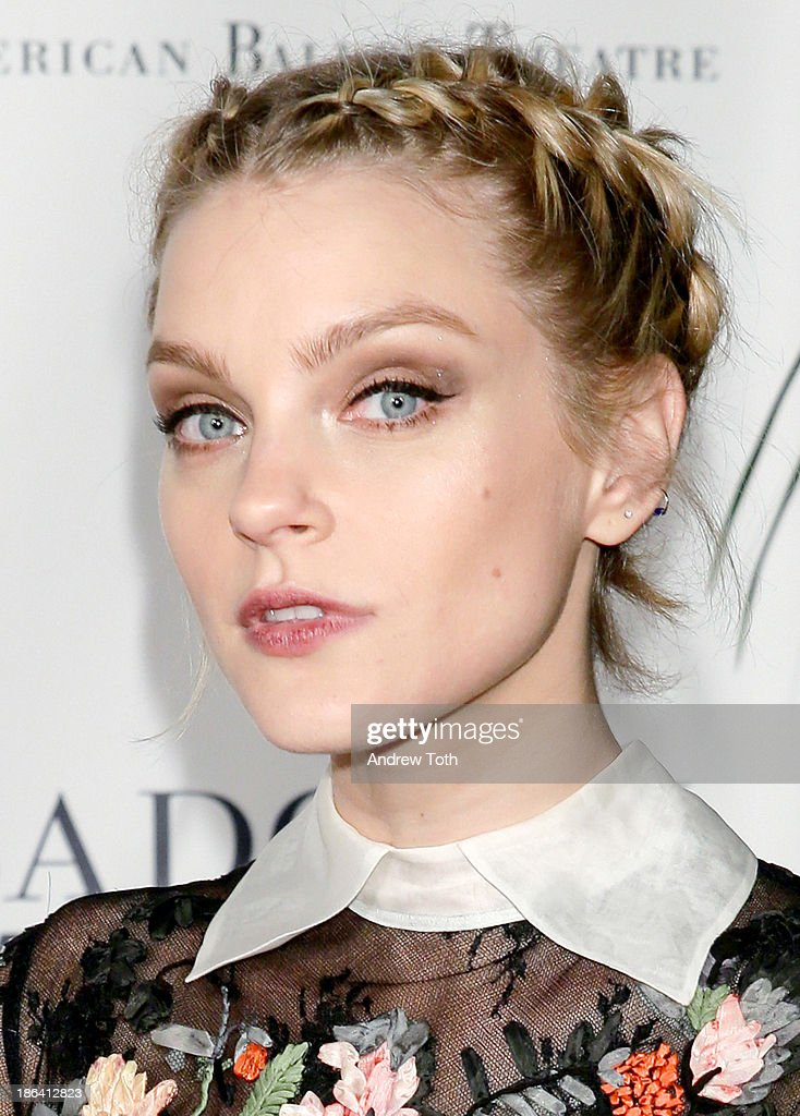 Model Jessica Stam attends the American Ballet Theatre 2013 Opening Night Fall gala at David Koch Theatre at Lincoln Center on October 30, 2013 in New York City.