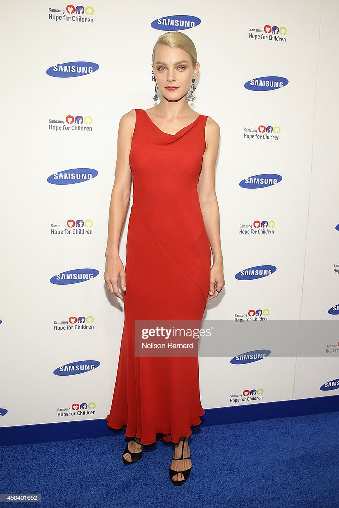 Model <a gi-track='captionPersonalityLinkClicked' href=/galleries/search?phrase=Jessica+Stam&family=editorial&specificpeople=657570 ng-click='$event.stopPropagation()'>Jessica Stam</a> attends the Samsung Hope For Children Gala 2014 on June 10, 2014 in New York City.