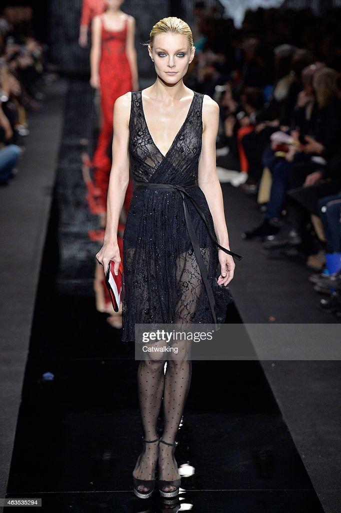 Diane Von Furstenberg - Runway RTW - Fall 2015 - New York Fashion Week