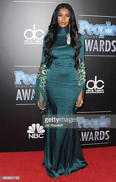 Model Jessica White arrives at The PEOPLE Magazine Awards at The Beverly Hilton Hotel on December 18 2014 in Beverly Hills California