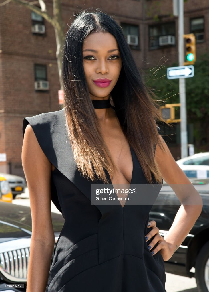 Model <a gi-track='captionPersonalityLinkClicked' href=/galleries/search?phrase=Jessica+White&family=editorial&specificpeople=220742 ng-click='$event.stopPropagation()'>Jessica White</a> attends 2014 Mercedes-Benz Fashion Week during day 1 on September 5, 2013 in New York City.
