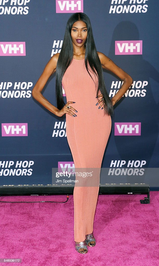 Model Jessica White attends the 2016 VH1 Hip Hop Honors: All Hail The Queens at David Geffen Hall on July 11, 2016 in New York City.