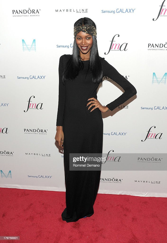 Model <a gi-track='captionPersonalityLinkClicked' href=/galleries/search?phrase=Jessica+White&family=editorial&specificpeople=220742 ng-click='$event.stopPropagation()'>Jessica White</a> attends The Daily Front Row's Fashion Media Awards at Harlow on September 6, 2013 in New York City.