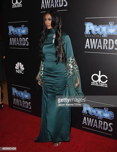Model Jessica White attends the PEOPLE Magazine Awards at The Beverly Hilton Hotel on December 18 2014 in Beverly Hills California