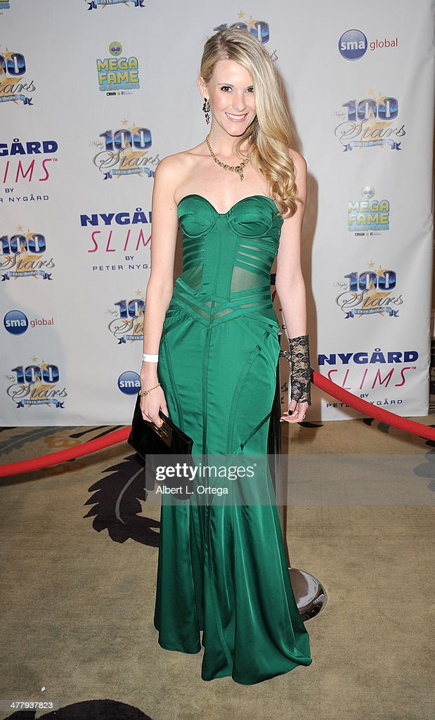 Model Jezlan Moyet arrives for Norby Walters' 24nd Annual Night Of 100 Stars Oscar Viewing Gala held at Beverly Hills Hotel on March 2, 2014 in Beverly Hills, California.