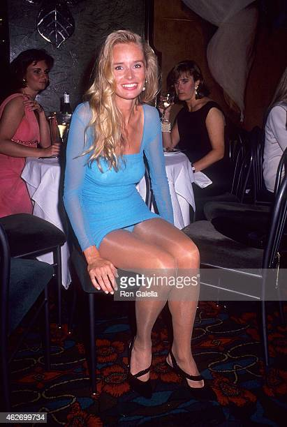 Model Jill Severence attends the Second Annual Singular Sensations Awards Dinner to Benefit the National Glaucoma Trust on June 18 1991 at Maxim's...