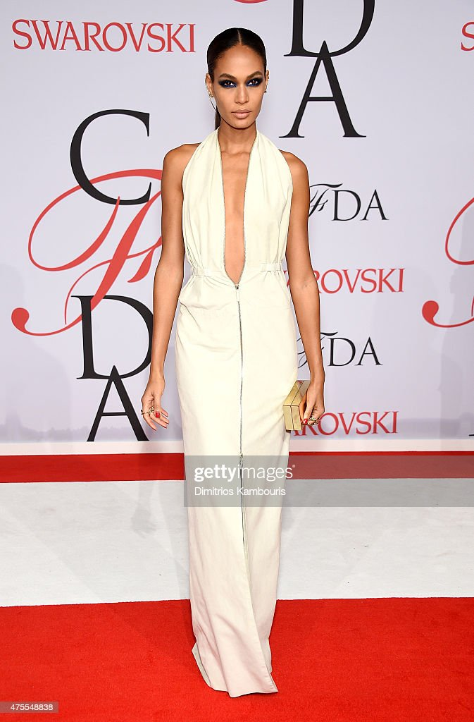 Model <a gi-track='captionPersonalityLinkClicked' href=/galleries/search?phrase=Joan+Smalls&family=editorial&specificpeople=5714628 ng-click='$event.stopPropagation()'>Joan Smalls</a> attends the 2015 CFDA Fashion Awards at Alice Tully Hall at Lincoln Center on June 1, 2015 in New York City.