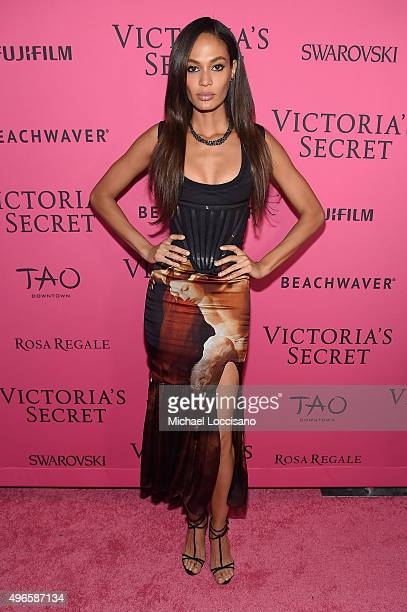 Model Joan Smalls attends the 2015 Victoria's Secret Fashion After Party at TAO Downtown on November 10 2015 in New York City
